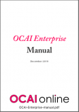 OCAI Enterprise manual
