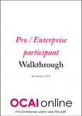 Pro / Enterprise participant walkthrough
